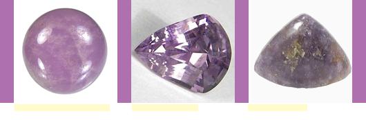 Pantone Spring 2014 Radiant Orchid Gemstones 1